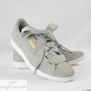 puma shoes ribbon